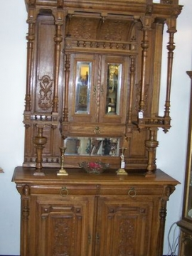Featured Furniture - Antique Oak Belgium Cabinet