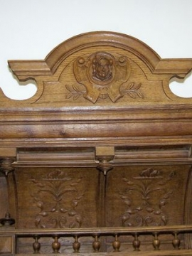 Featured Furniture - Belgium Cabinet Details
