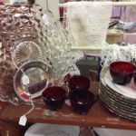 Red glass and stunning dishes