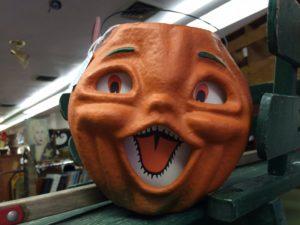 Funny pumpkin.