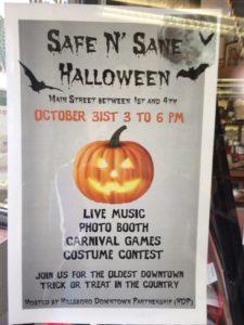 Event downtown Hillsboro.